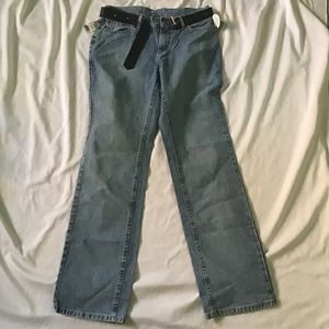 Riveted By Lee Low Rise Jeans Womens Size 10 Long